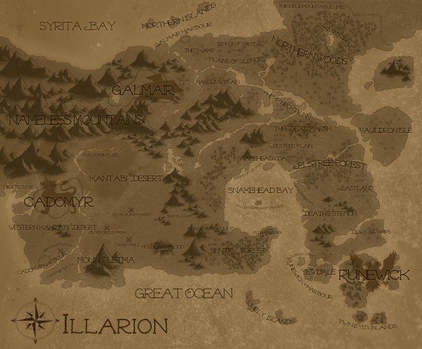 Map of Illarion